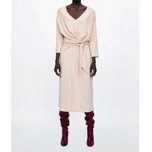 Zara bow dress